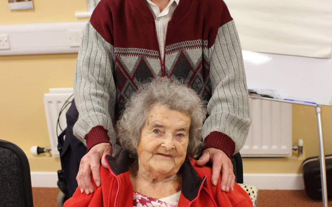 Rita and George at the Essence Centre